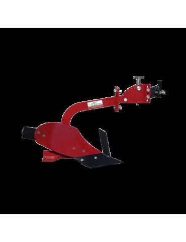 Plug simplu pentru motocultor 3-8 CP brăzdar 15 cm