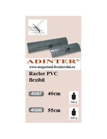 Raclor PVC flexibil 40 cm