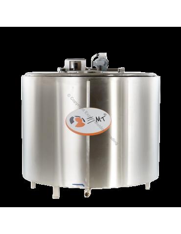Tanc de răcire INOX capacitate 400 litri - 380 V