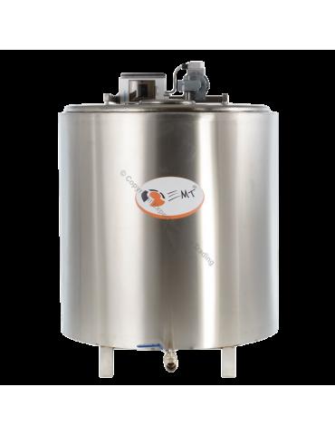 Tanc de răcire INOX capacitate 1000 litri - 380 V