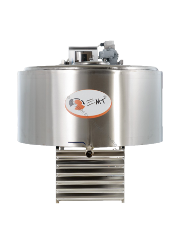 Tanc de răcire INOX capacitate 300 litri - 380 V