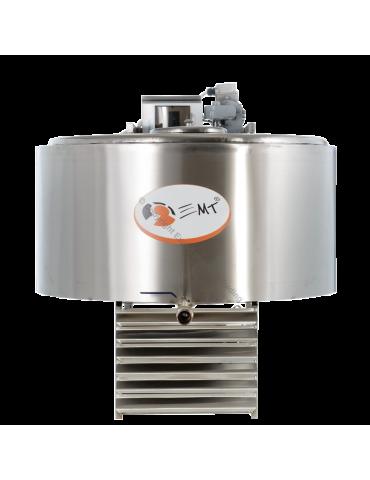 Tanc de răcire INOX capacitate 200 litri - 380 V