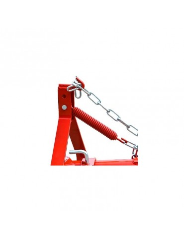 Frame with two brackets for accessories