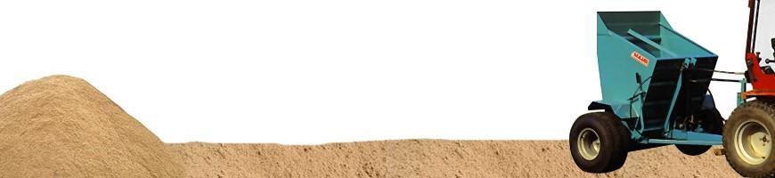 Distribuitoare de nisip